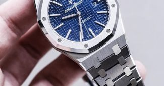 Replicas de Relojes Audemars Piguet Royal Oak Azul 15500