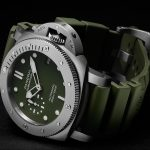 Replicas de Reloj Panerai Submersible Verde Militare 42MM