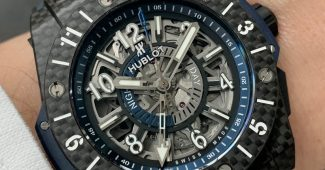 Replica Reloj Hublot Big Bang Unico GMT Carbon